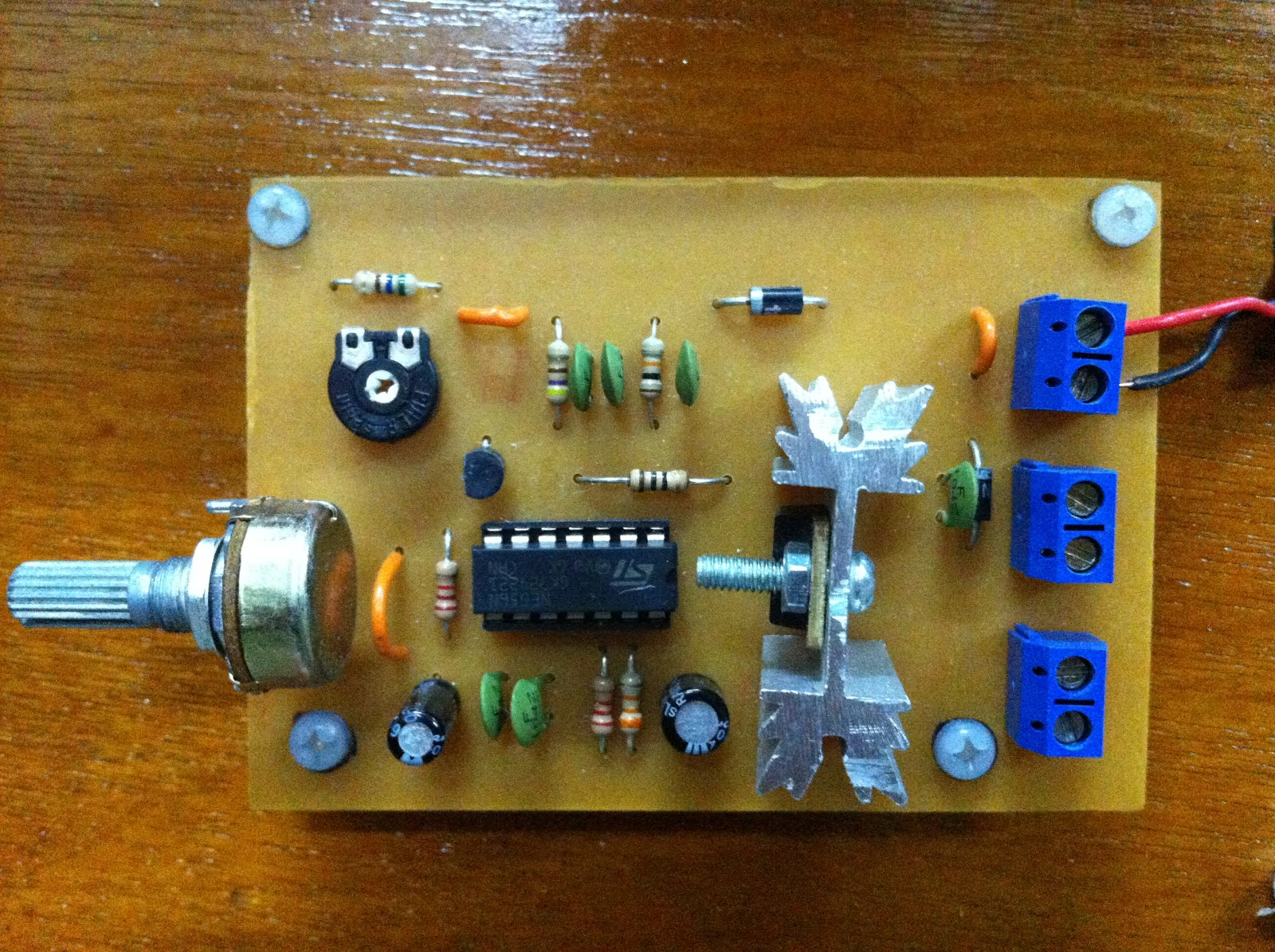 Early Warning Fault Detection System Dc Speed Controller Circuit Schematic
