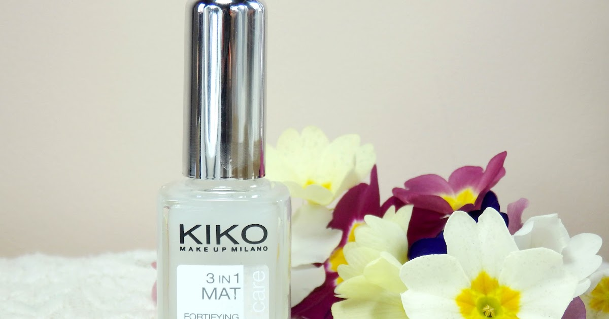 Review: Kiko 3 in 1 Mat Fortifying Fast Dry Base and Top Coat ...