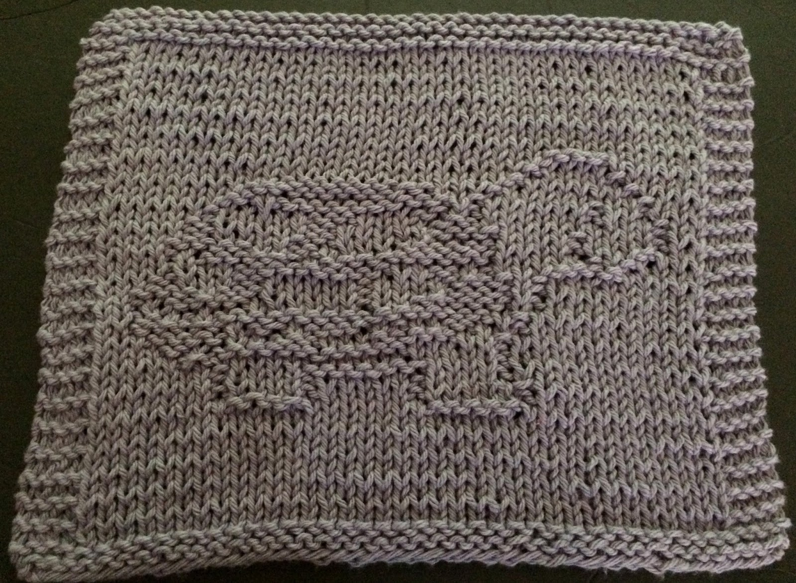 DigKnitty Designs: Baby Turtle Knit Dishcloth Pattern