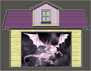El dragón en el garage