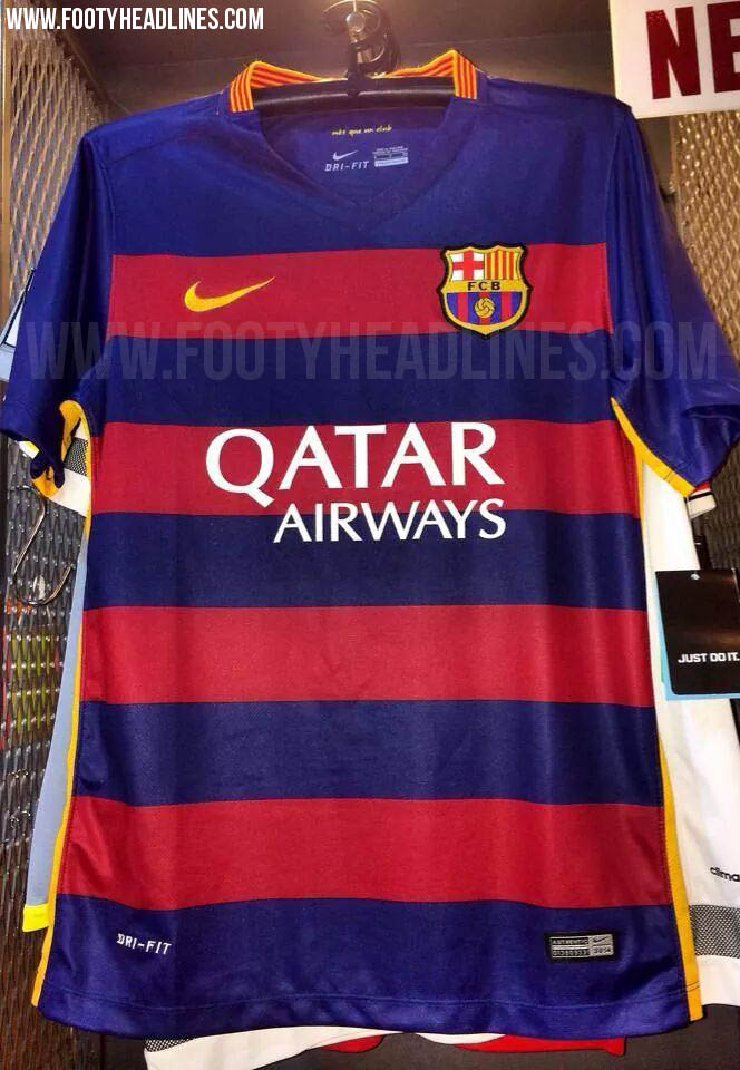 Revolutionary Fc Barcelona   Kits Released Footy Headlines