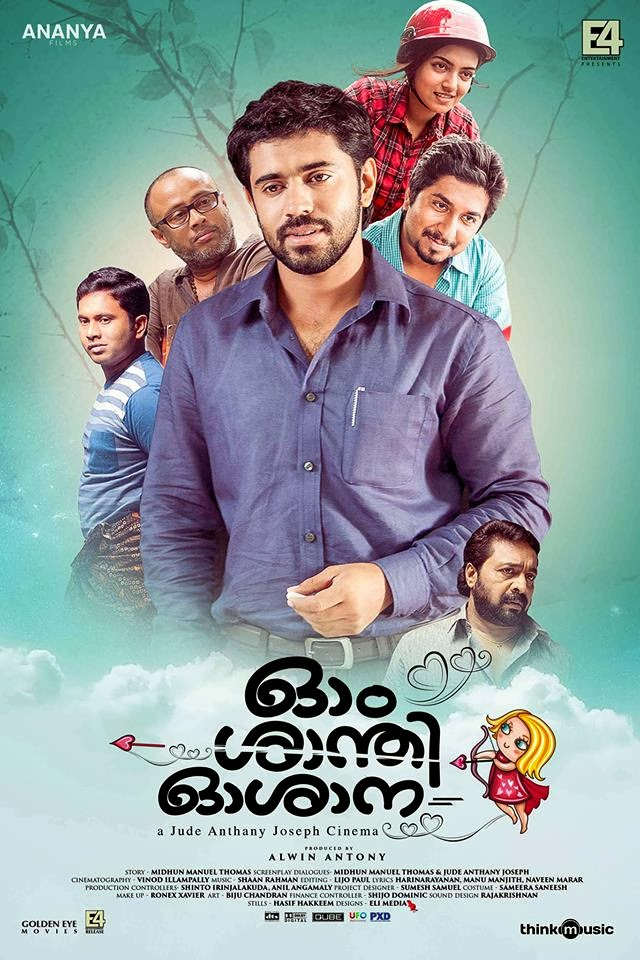 'Ohm Shanthi Oshaana' releases in theatres