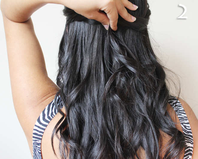 Cute and Easy Summer Hairstyle Tutorial by Le Beauty Girl