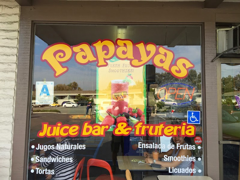 Papayas Juice Bar and Fruteria in Bonita, CA (San Diego)