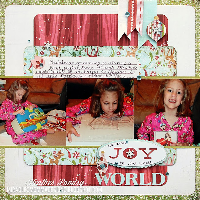 Christmas Present_Scrapbook Page_World News_Joy