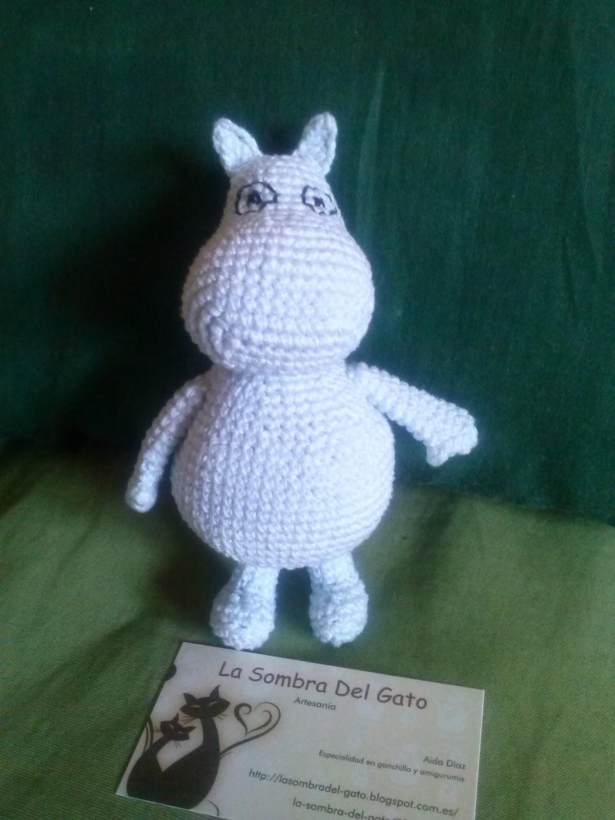 La sombra del gato: Moomin