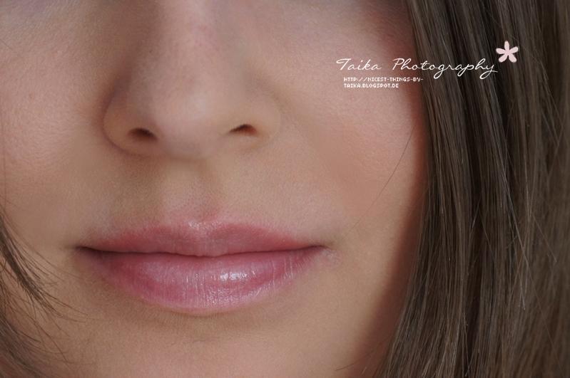 DIY Lip Tint Lip Stain selber machen mit Beeren vorher