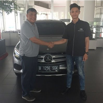Delivery GLC 250 a/n Bapak Made