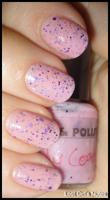 pretty & polishes candy coated swatches and review