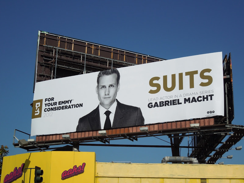 Gabriel Macht Suits Emmy billboard