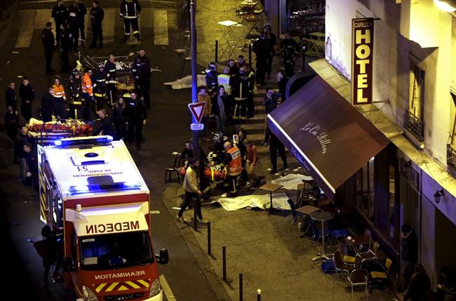 Múltiples ataques terroristas se han registran en el centro de París