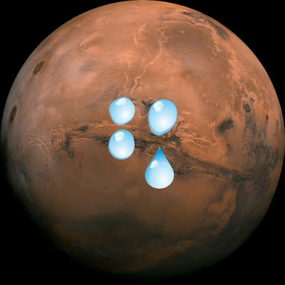 Tentative evidence of water on Mars has evolutionists raising a ruckus. What was actually found, and are their extrapolations valid?