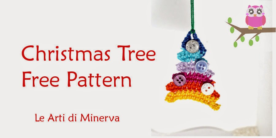 Maryj handmade albero di natale all 39 uncinetto crochet for Addobbi natalizi all uncinetto