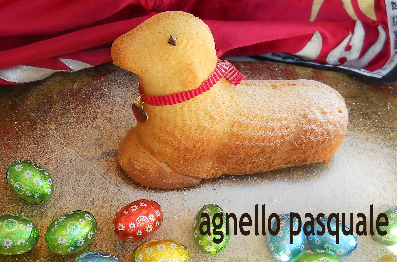lammoform ovvero agnello pasquale all'arancia