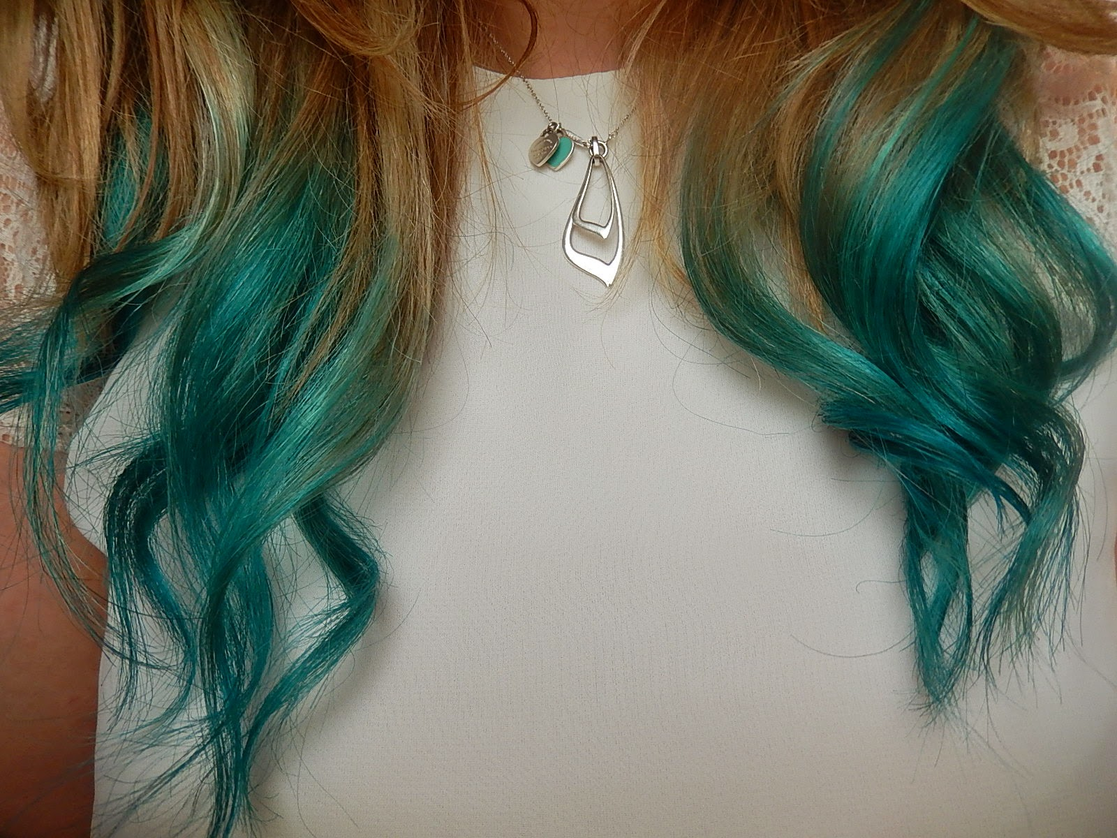 Beka's Beauty. UK Beauty Blog with Mermaid Dip Dye Hair from Hair Crazy