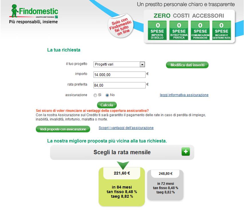 Prestiti a confronto con facile.it - Confronta i prestiti online