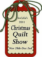 Link to the SewCalGal's 2011 Christmas Quilt Show