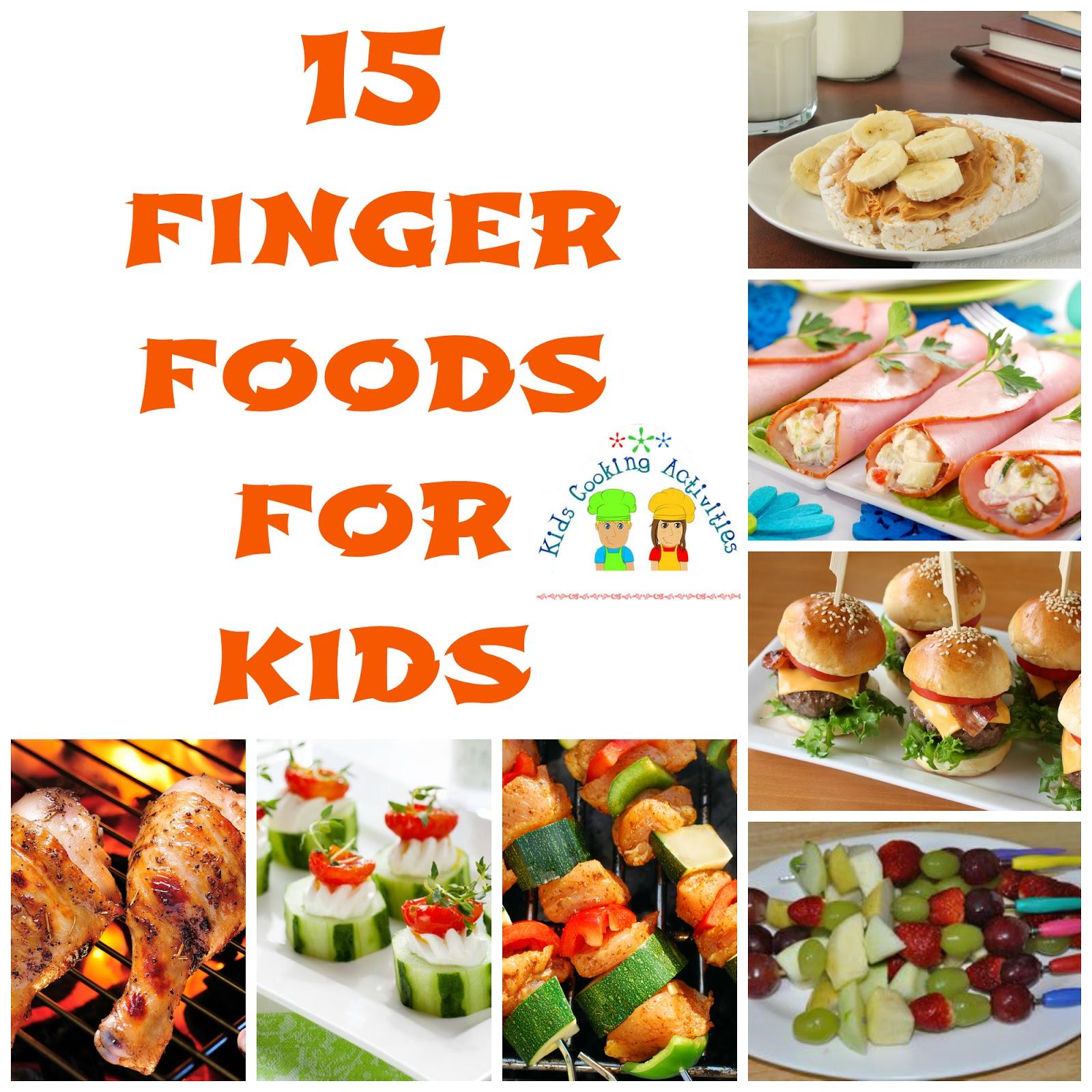15+ Finger Foods for
