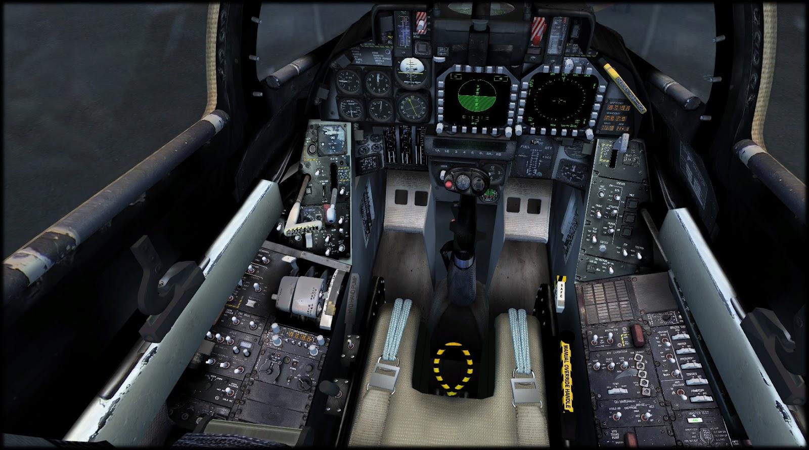 F 14 Tomcat Cockpit IndiaFoxtEcho Visual S...