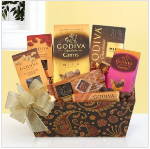 Mouthwatering Godiva Basket