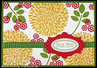 Betsy's Blossom Card by Bekka www.feeling-crafty.co.uk  UK Stampin' Up! Demonstrator