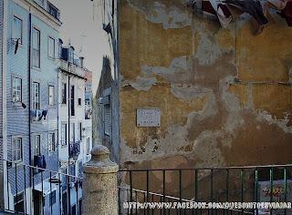 Lisboa barrio de San Jorge