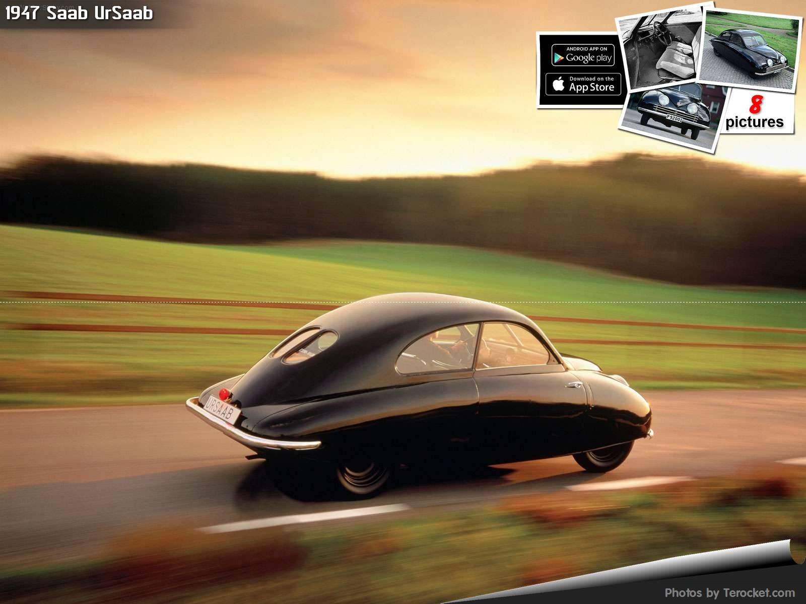 Hình ảnh xe ô tô Saab UrSaab 1947 & nội ngoại thất