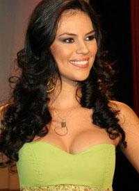 Miss Ecuador Mundo 2012 winner Cipriana Correia Macias