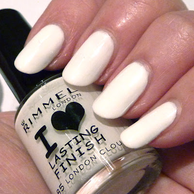 Rimmel London Clouds Nail Polish Swatch