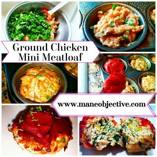 ground chicken mini meatloaf recipe