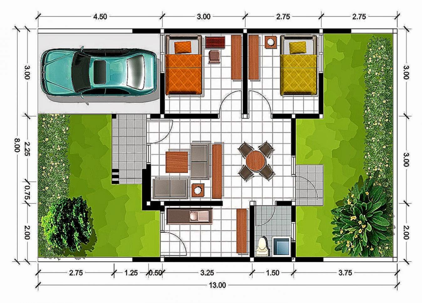 Cara Membuat Denah Rumah Yang Baik Dan Benar   Gambar Desain Rumah