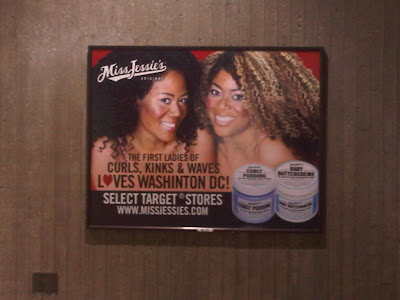 the first ladies of kinks, curls and waves loves Washinton