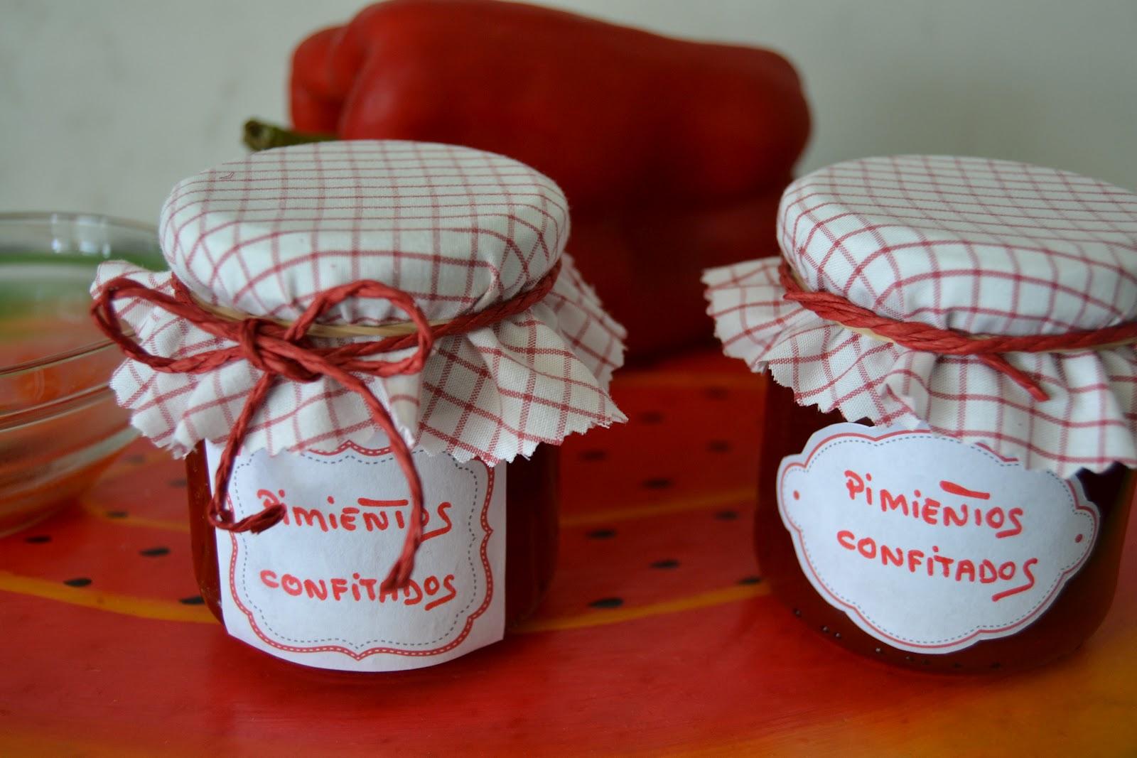 Cocina golosona mermelada de pimientos rojos confitados - Mermelada de pimientos rojos ...