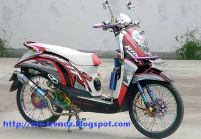 Honda Scoopy Modif Racing Look Pictures