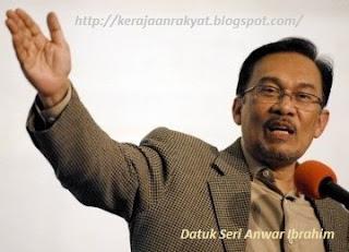 Anwar Ibrahim Perdana Menteri Malaysia ke-7