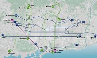 Nieuwe buslijnen Barcelona