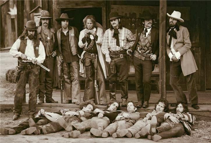 Les Eagles en 1974 Eagles-desperado