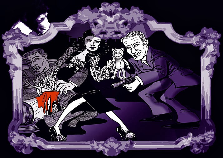 Joan Bennett scandal by Sophie Cossette