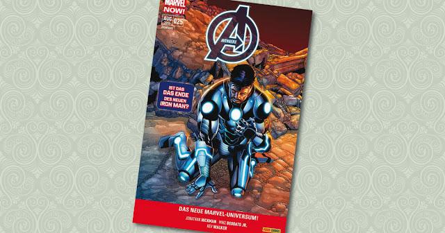 Avengers 25 Panini Cover