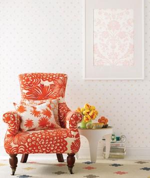 color combination orange yellow beige white pastel pink