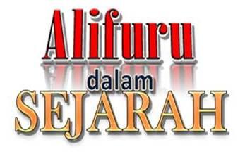 Alifuru Dalam Sejarah