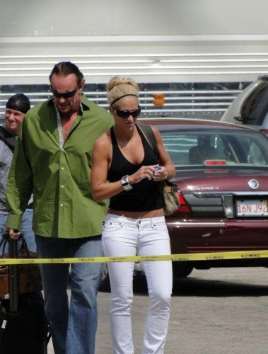 Michelle Mccool Baby Mark Calaway And Miche...