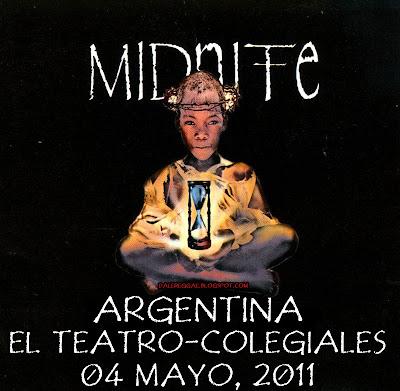 Midnite en Argentina, 04 de Mayo 2011, El Teatro, Colegiales