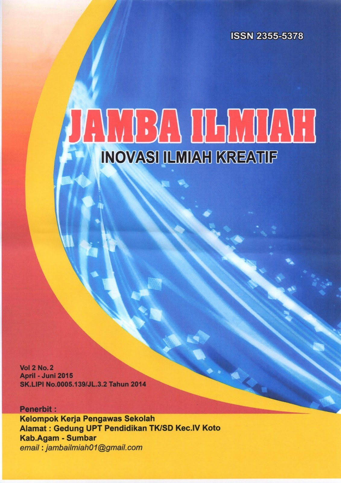 JURNAL ILMIAH PTK