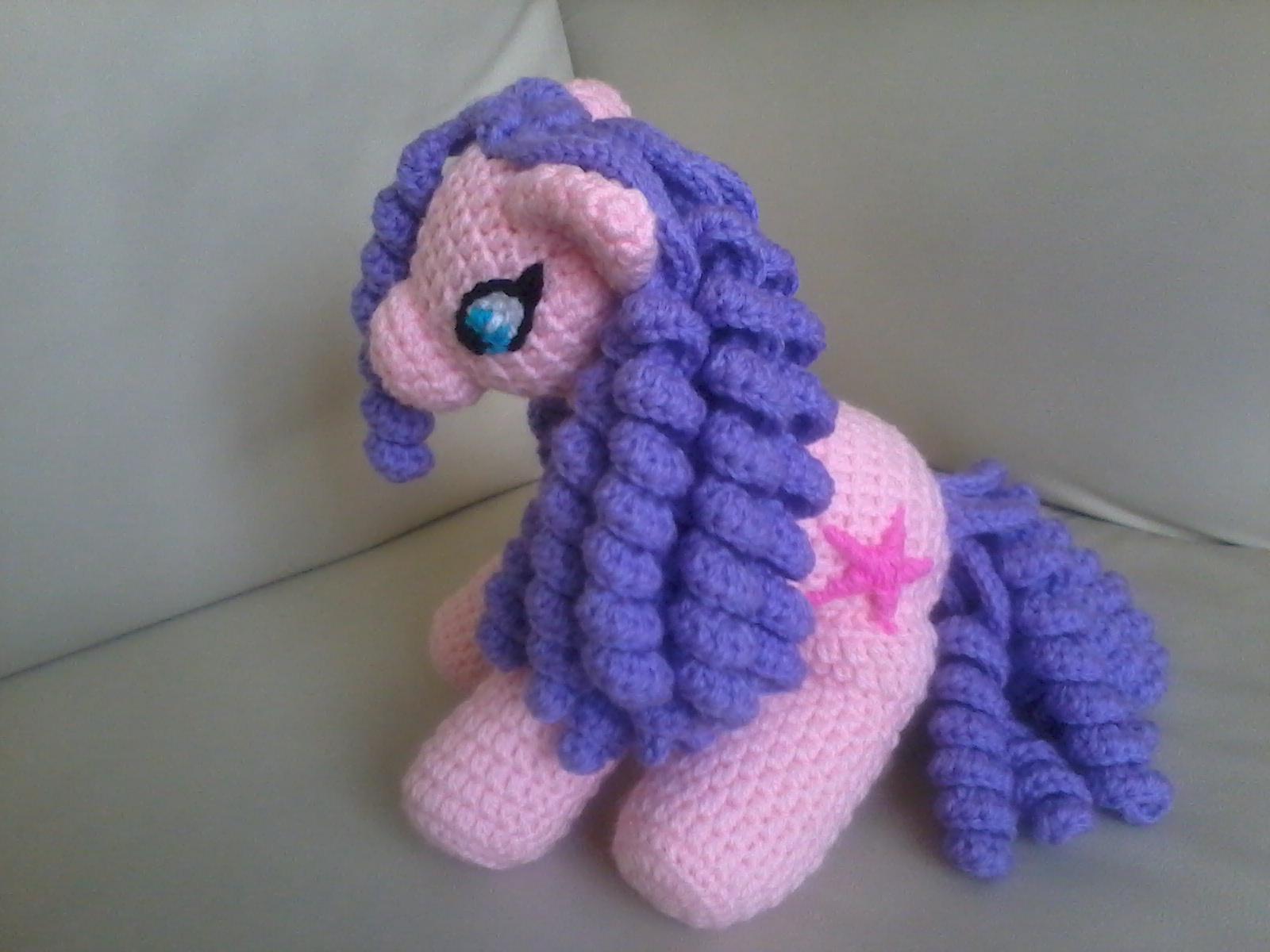 Ponytail Amigurumi : Creaciones y tejidos de Maggie: Pony Amigurumi