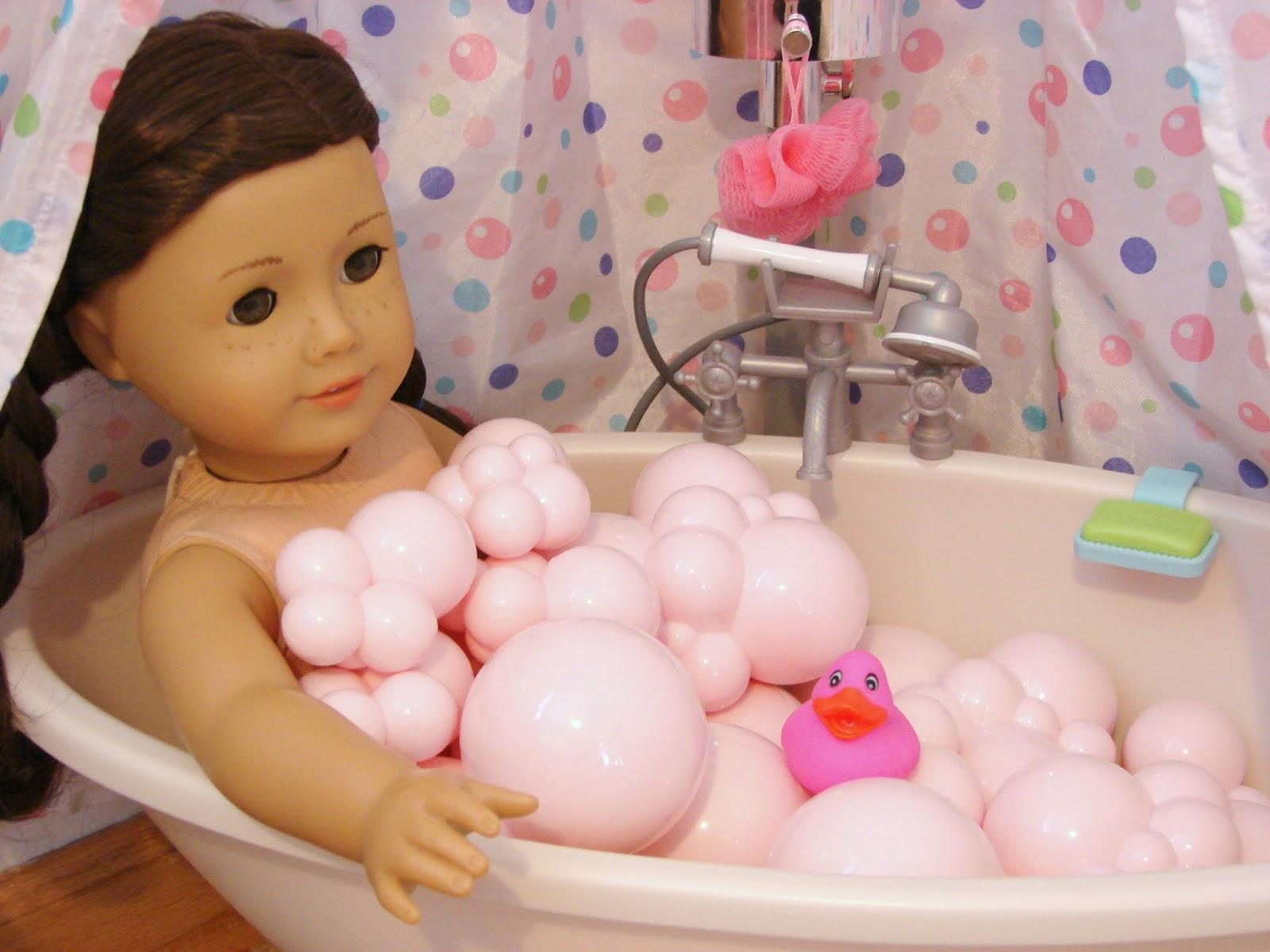 American Girl Doll Play Our Doll Play Area The Bathroom