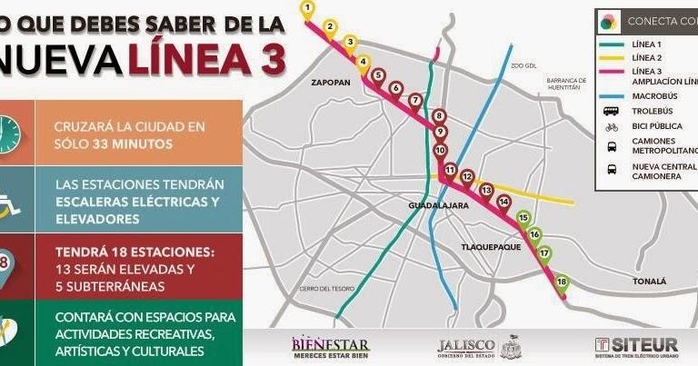 e-Gualix blog. : Línea 3 del Tren Ligero de Guadalajara