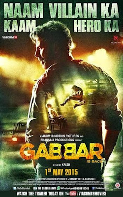 New Movie DvdScr Rip 720p Gabbar is Back (2015)