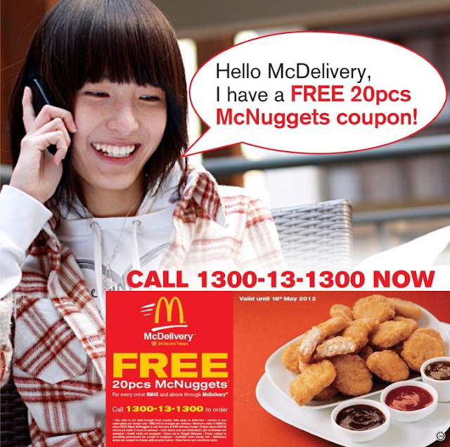 526782 10151667187965023 142518590022 23907987 1629260390 n Mc Donalds Mc Delivery Promotion