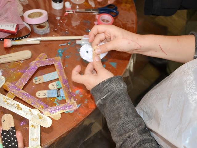 Taller navideño Tarro de ideas Las Rozas Village